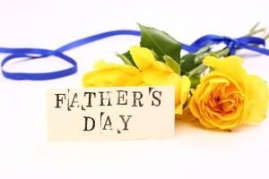 父の日・黄色いバラ