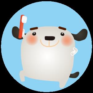 ペット歯磨き