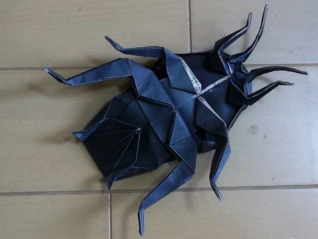 ゴキブリ_折り紙_裏