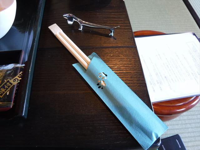 ワンコの箸入れと箸置き
