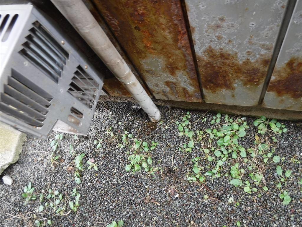 水道管漏水状況